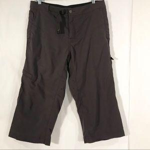 prAna Technical Hiking Cropped Capri Pants Medium